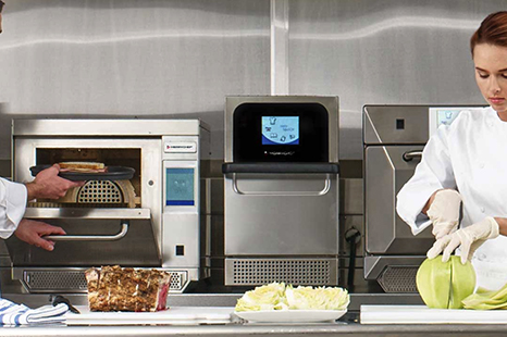 high-speed countertop oven retail foodservice equipment