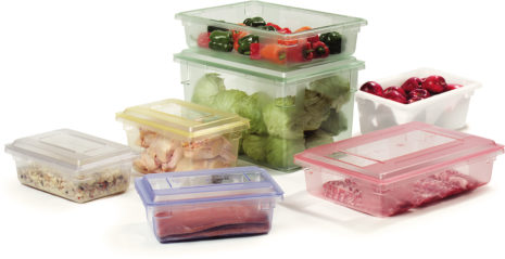 Carlisle Foodservice Products Color-Coded Food Boxes